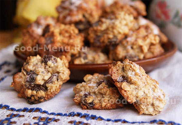 Низкокалорийное печенье своими руками