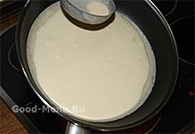 Как печь блины на молоке рецепт с пошагово