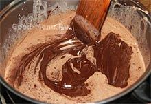 Крем под шоколадную глазурь