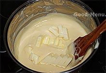 Заварной крем для торта рецепт